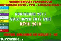 DOWNLOAD RPP KURIKULUM 2013, SILABUS, PROTA, PROSEM, KKM, PEMETAAN KI KD, SD KELAS 1,2,3,4,5 DAN 6 SD/MI Kurikulum 2013 Revisi 2017 dan Revisi 2018