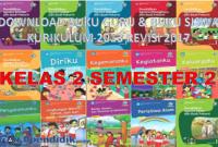 Download Buku Guru dan Buku Siswa K13 Kelas 2 Revisi 2017 Semester 2