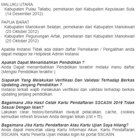 Pendaftaran PPPK Tahun 2019