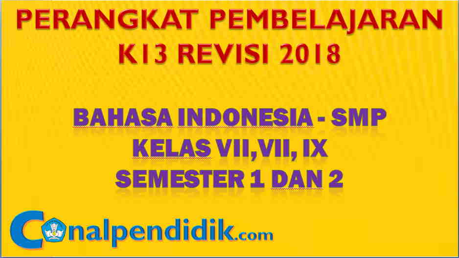 RPP Bahasa Indonesia SMP