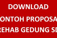 Proposal Rehap Gedung SD