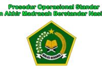 Prosedur Operasional Standar UAMBN