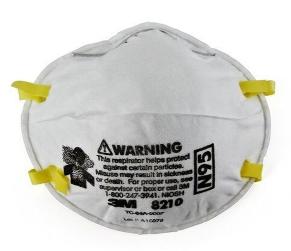 Particulate Respirator 8210, N95 160 EA/Case
