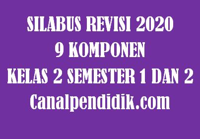 Download Silabus 9 Komponen / 9 Kolom Kelas 2