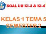Kisi-kisi UH Kelas 1 Semester 2
