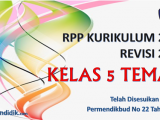 RPP Kelas 5 Tema 7 Kurikulum 2013 Revisi 2017