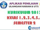 Aplikasi Nilai Harian dan UTS Semester 2