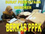 Surat Pernyataan Honor PPPK