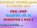 RPP PKN SMP Kelas 7,8,9