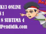 Soal Kelas 1 Tema 8 Subtema 4