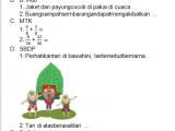 Soal PH/UH Kelas 3 Tema 5