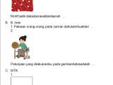 Soal PH/UH Kelas 3 Tema 7