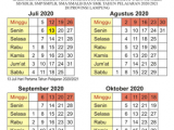 Kalender Pendidikan 2020/2021 Lampung Tahun Ajaran Baru