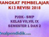RPP PJOK SMP
