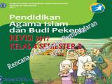 Download RPP PAI SD kelas 4 Semester 2 kurikulum 2013 revisi 2017