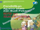 Download RPP PAI SD kelas 5 Semester 2 kurikulum 2013 revisi 2017